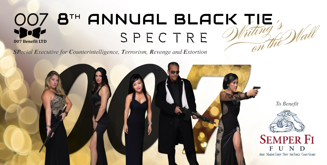 8th Annual 007 Black Tie Gala