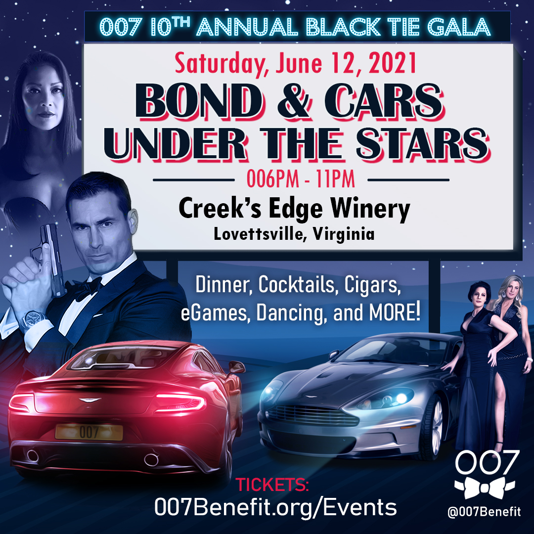 "10th Annual 007 Black Tie: ""Bond & Cars Under the Stars"""