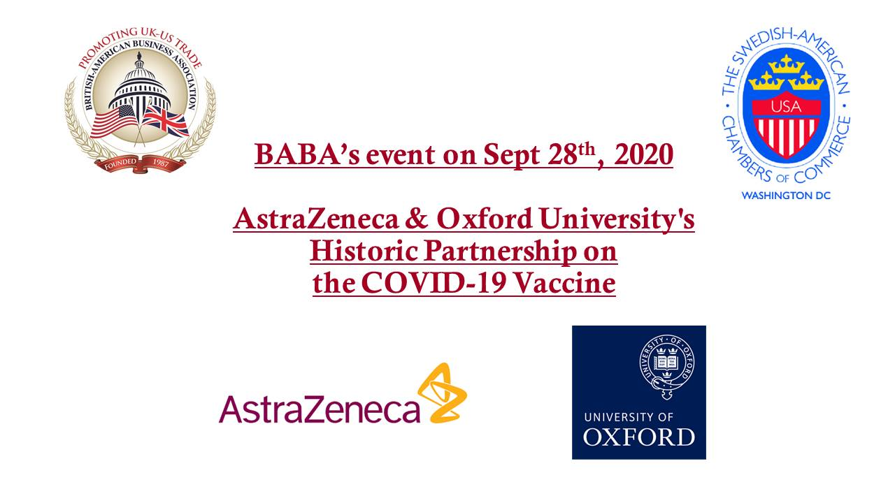 VIEW THE PROGRAM: AstraZeneca and Oxford University's Partnership on the COVID-19 Vaccine