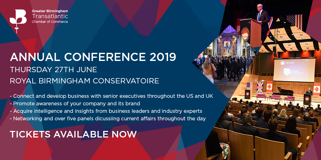 Annual Transatlantic Business Conference - Birmingham, UK