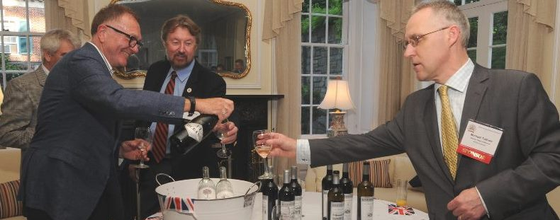 Wine Soiree at the British Deputy Ambassador's Home